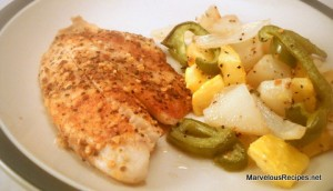 Roasted Tilapia with Vegetables