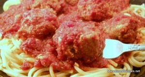 Italian Meatballs and Sauce