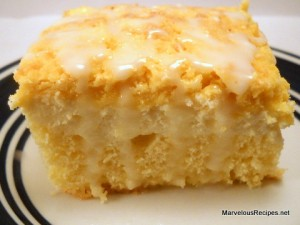 Lemon Cheese Coffee Cake