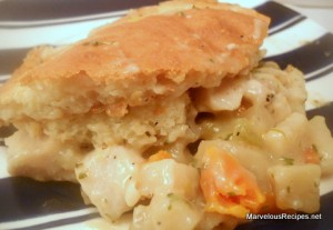 Fast Fix Chicken Pot Pie