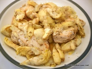 Chicken with Artichokes and Thyme