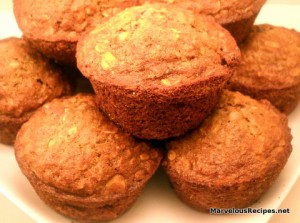 Whole Grain & Oat Muffins