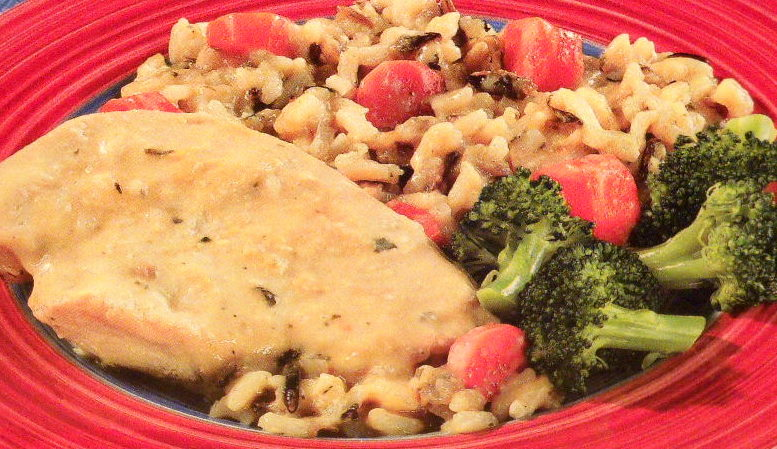 Creamy Chicken & Wild Rice