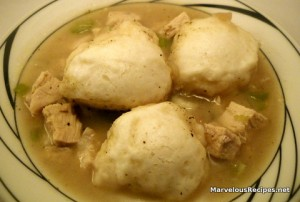 Chicken &amp; Dumplings