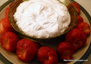 Fresh Strawberry Dip