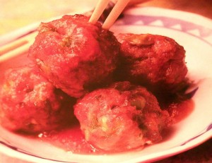 Asian Meatballs