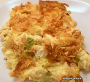 Chicken-Rice-Broccoli Casserole