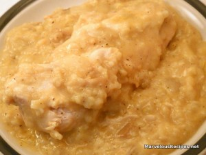Crock-Pot Chicken & Rice