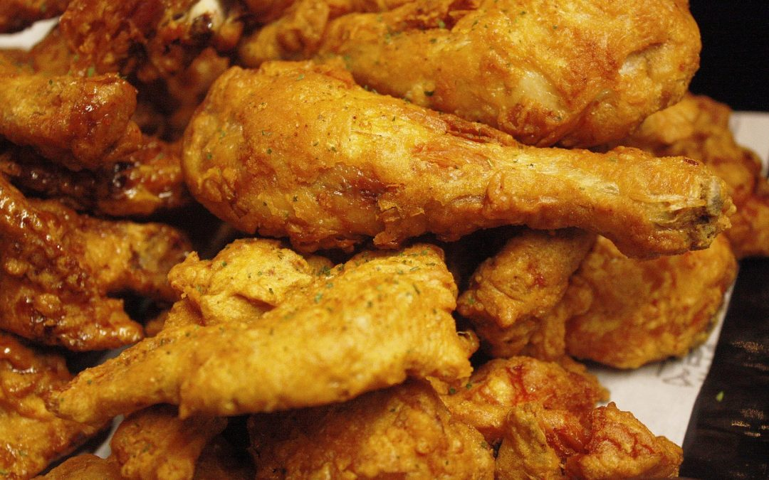 Oven-Fried Drumsticks
